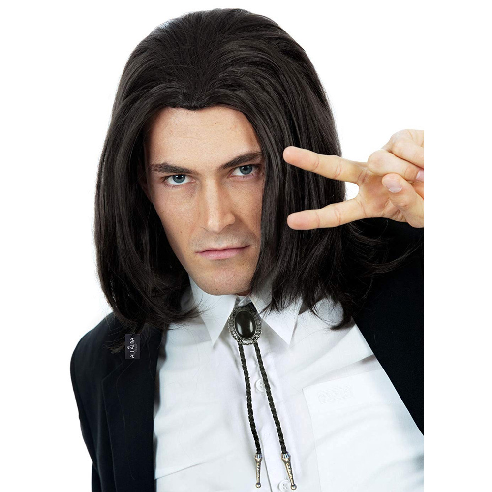 Vincent Vega Costume - Vincent Vega Hair Wig - Pulp Fiction Costume
