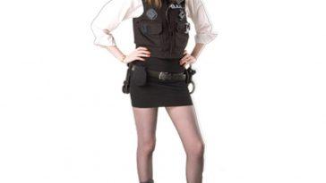 Amy Pond Costume - Amy Pond Police Woman Costume