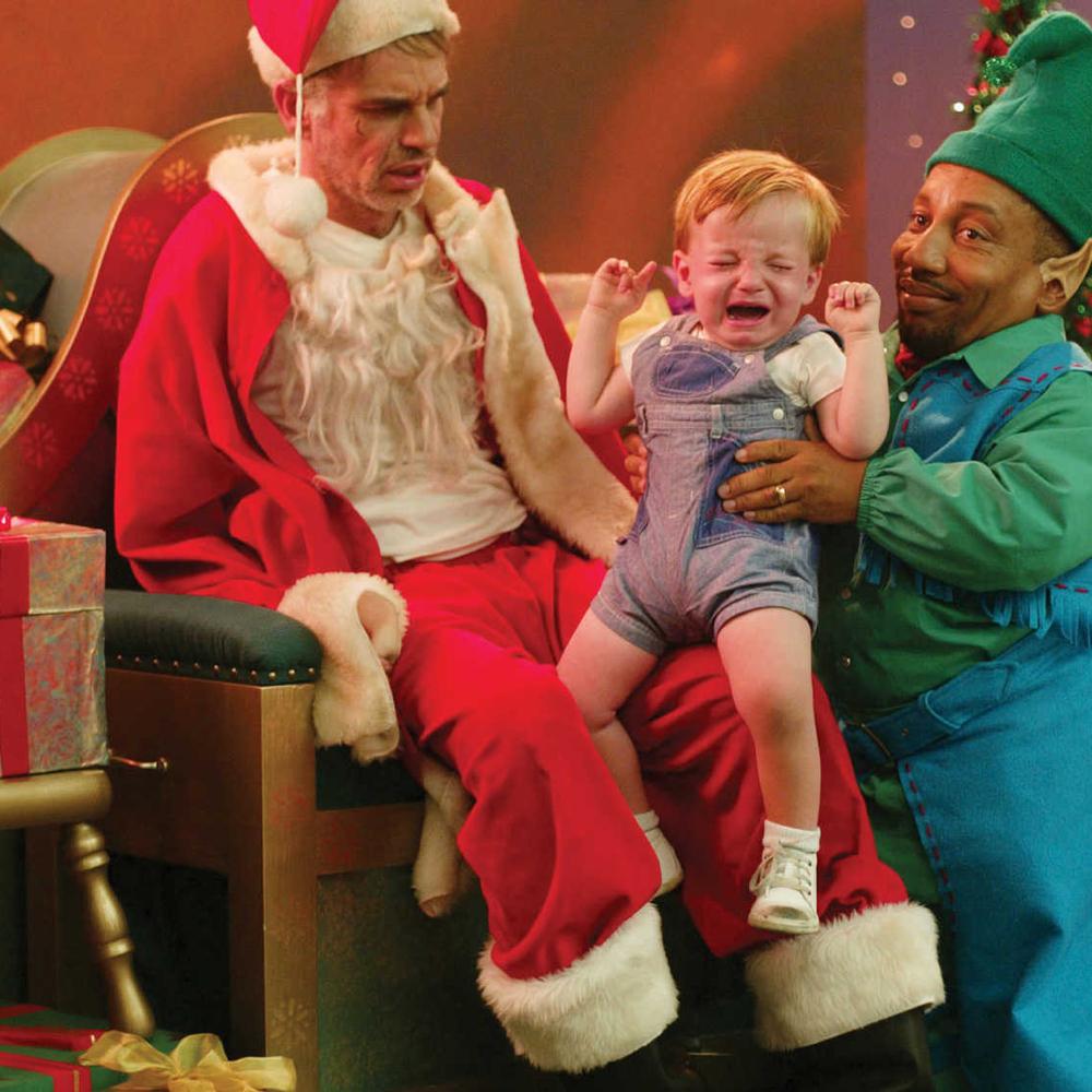 Bad Santa Costume - Bad Santa T-Shirt
