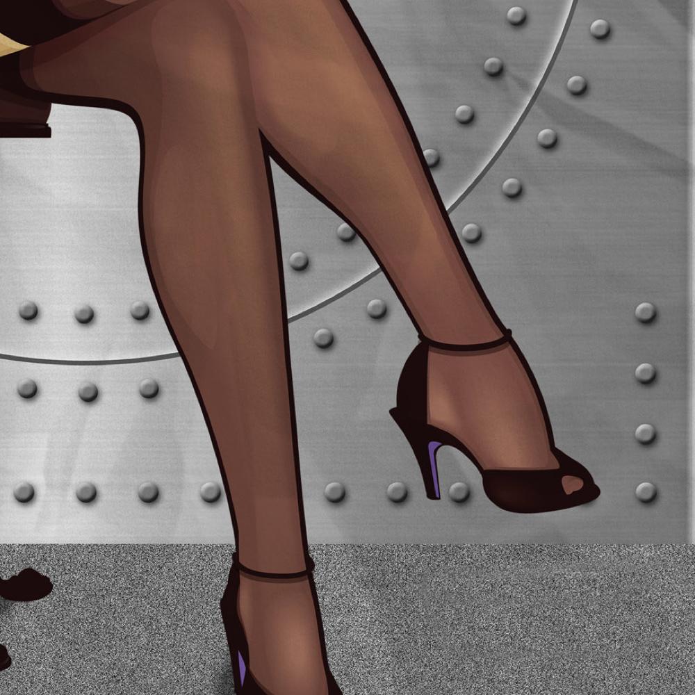 Bombshell Catwoman Costume - DC Bombshells - Bombshell Catwoman High Heels