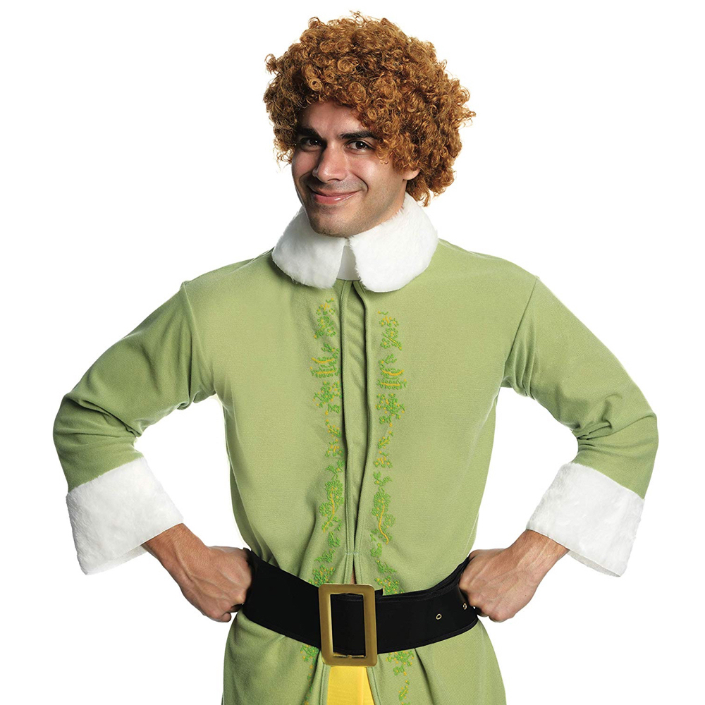 Buddy The Elf Costume - Buddy The Elf Wig