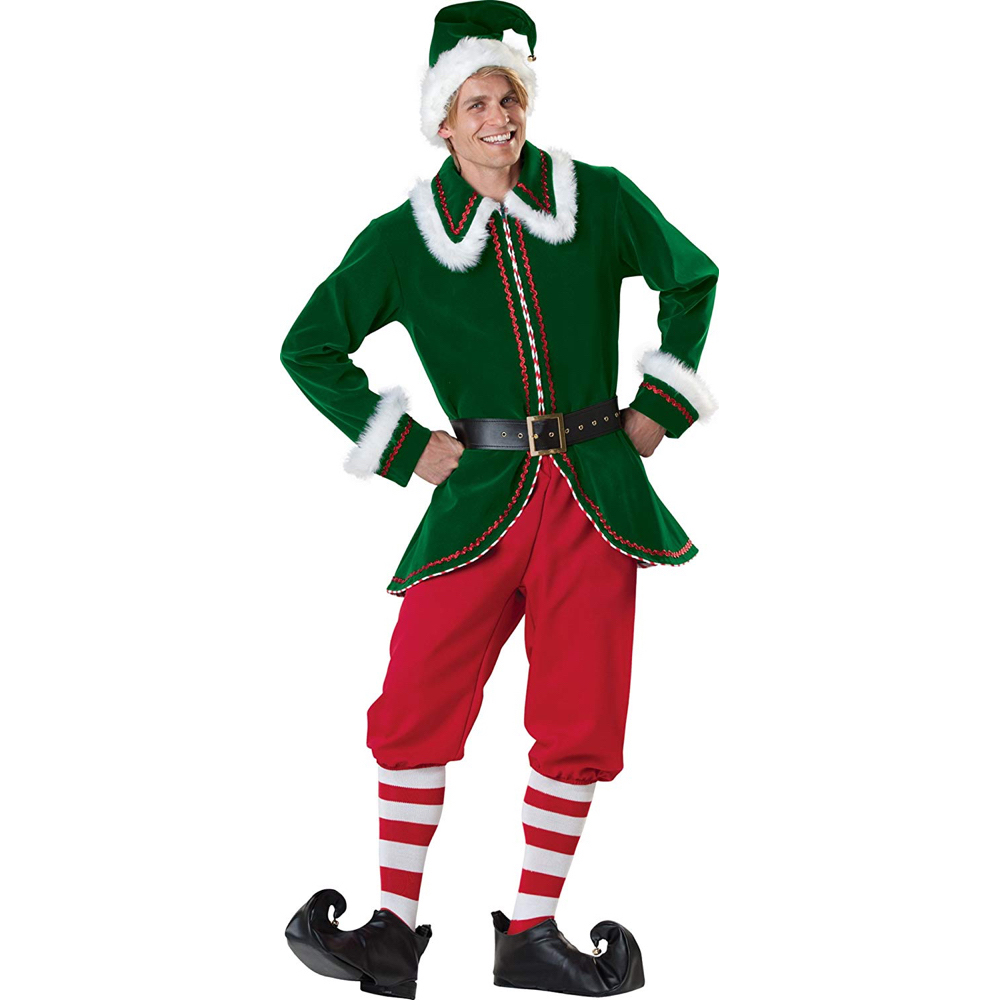 Buddy The Elf Costume - Buddy The Elf Jacket