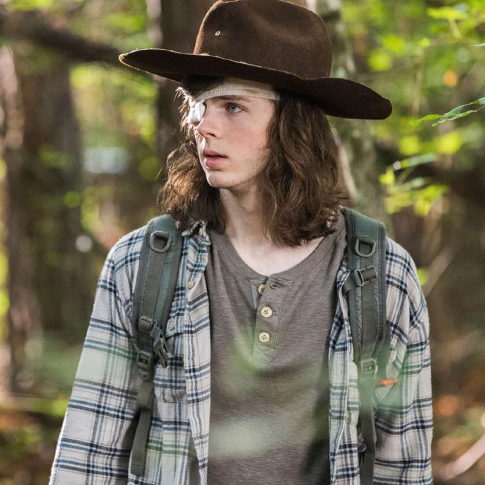 Carl Grimes Costume - The Walking Dead - Carl Grimes Shirt