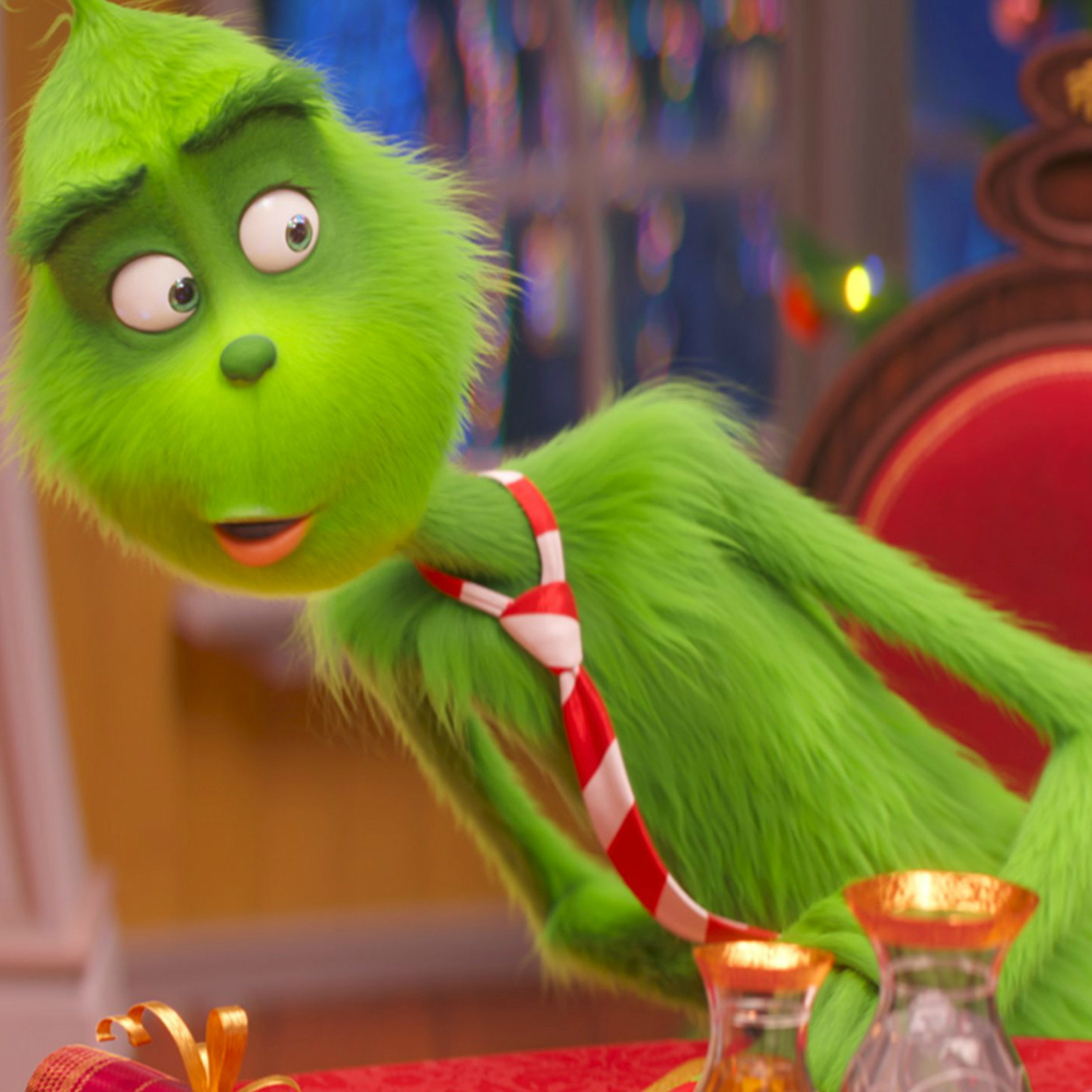 The Grinch Costume - The Grinch Fur