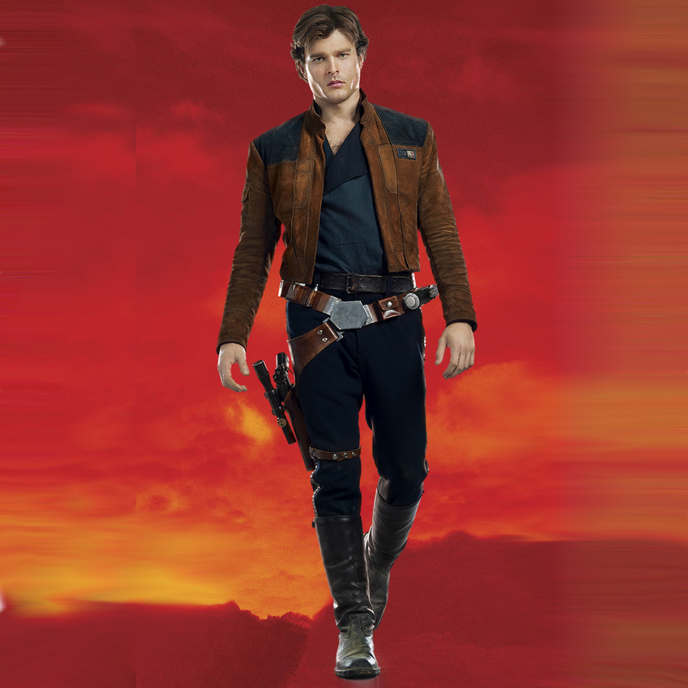 Han Solo Costume - Han Solo Boots - Solo A Star Wars Story Costume