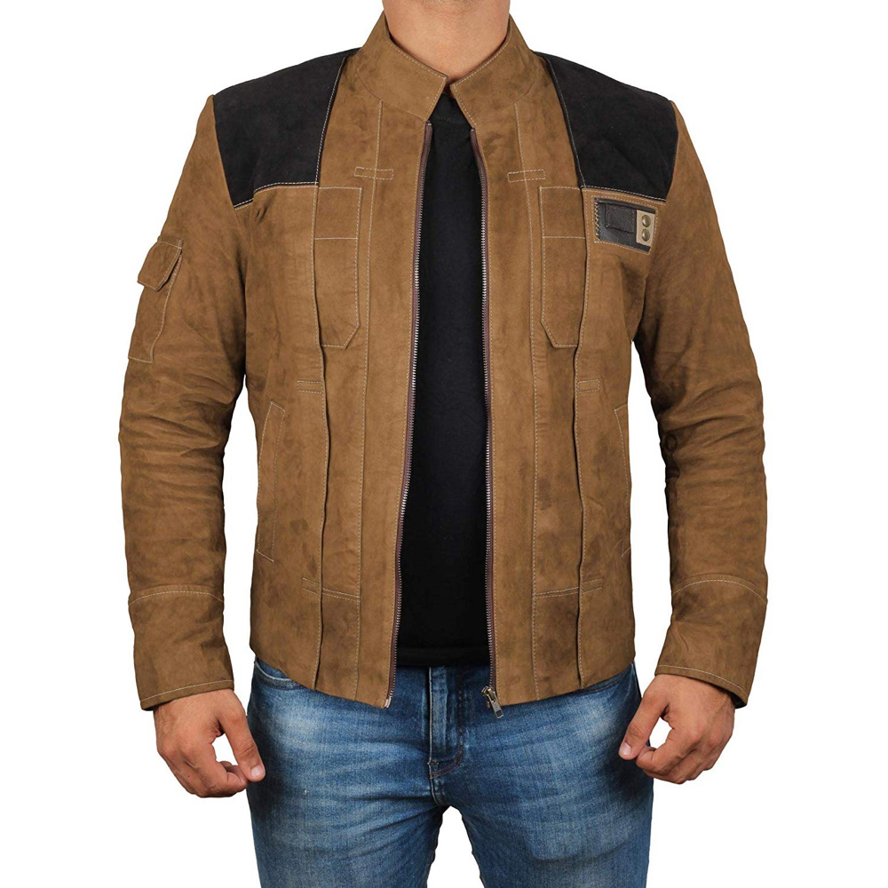 Han Solo Costume - Han Solo Jacket - Solo A Star Wars Story Costume