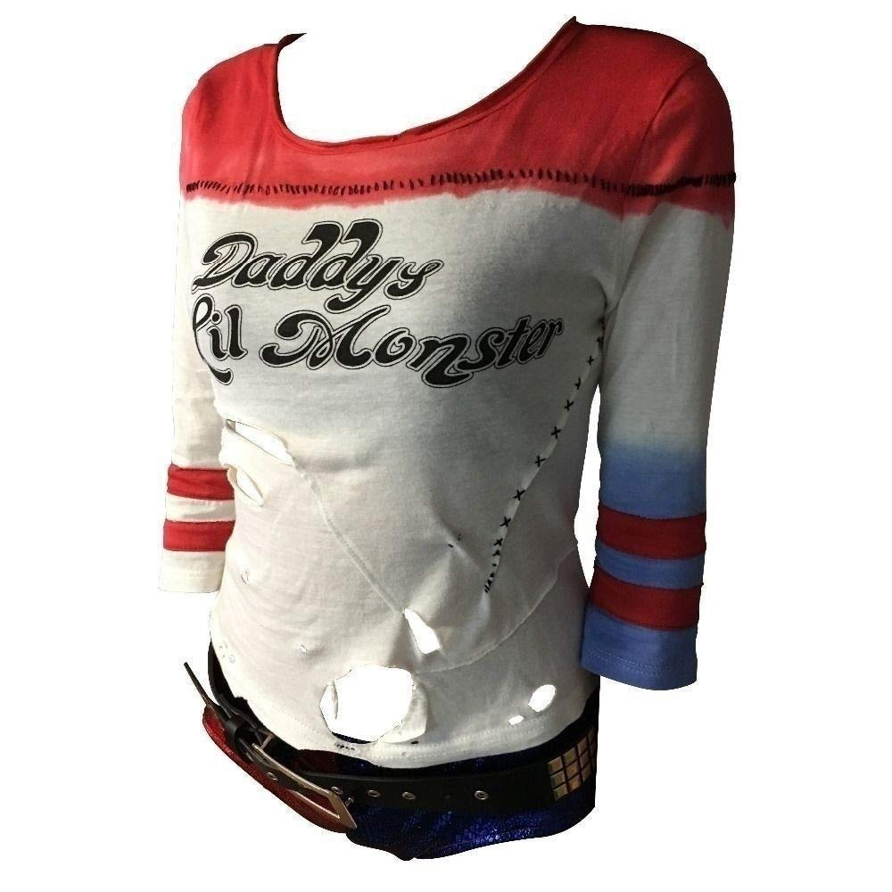 Harley Quinn Costume - Harley Quinn Daddys Lil Monster T-Shirt - Suicide Squad Costume