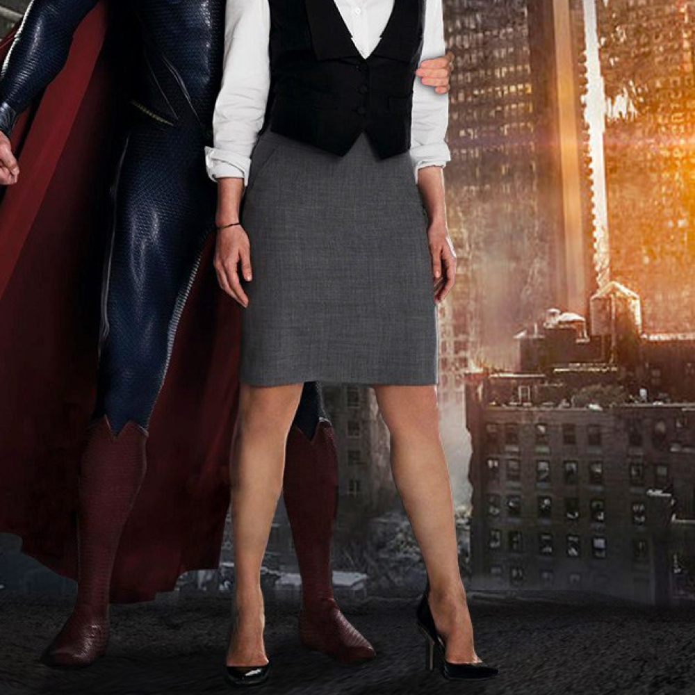 Lois Lane Costume - - Lois Lane High Heels - Man of Steel Costume