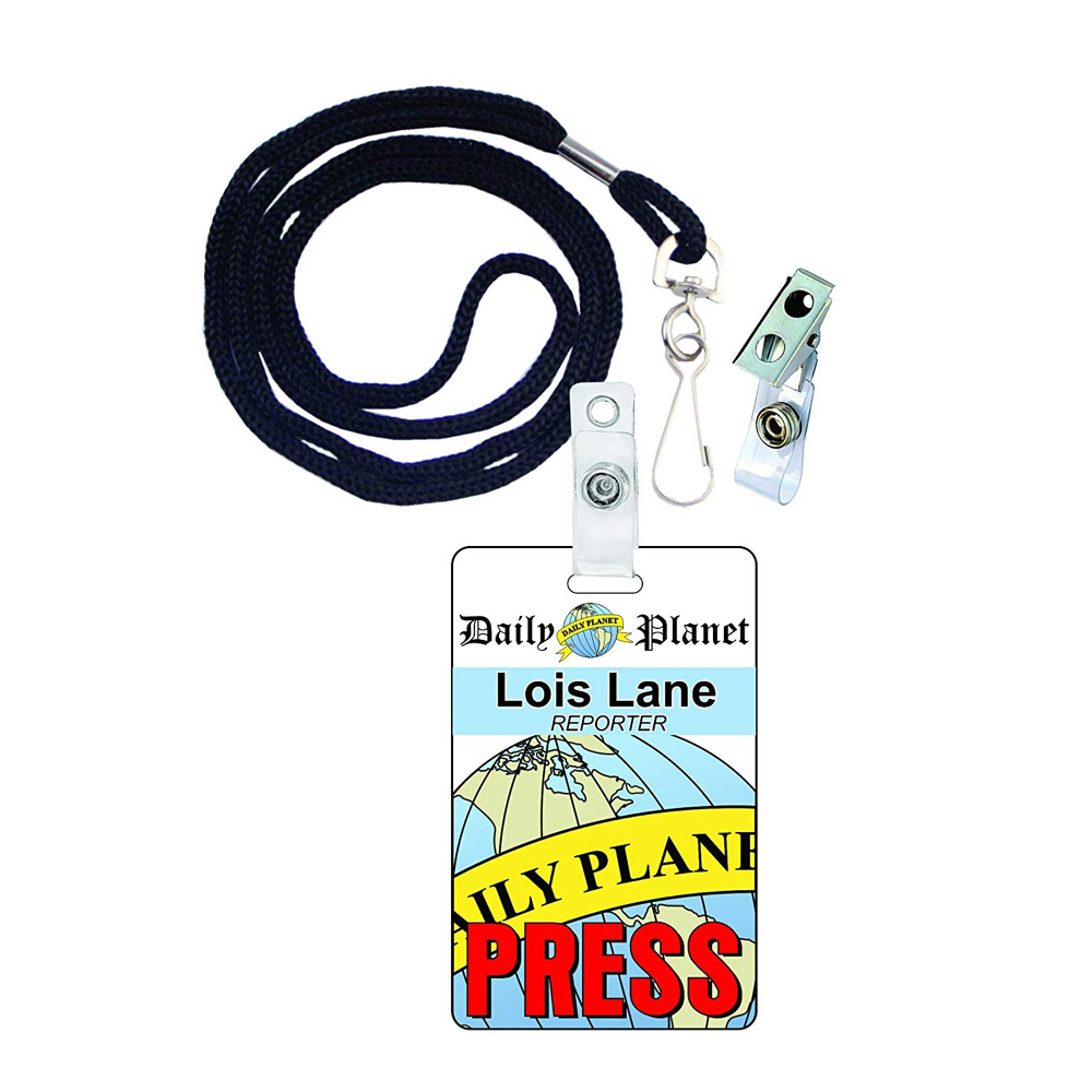 Lois Lane Costume - Lois Lane ID Badge- Man of Steel Costume