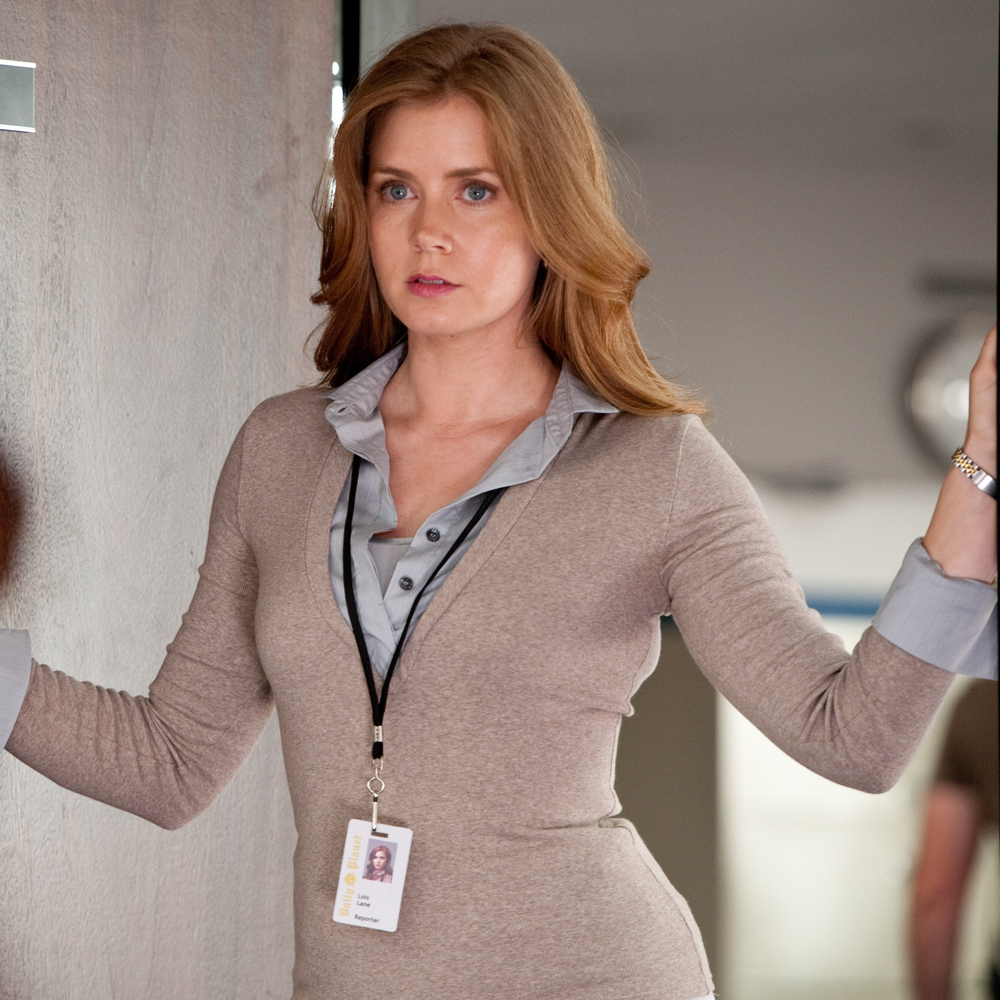Lois Lane Costume - - Lois Lane Sweater - Man of Steel Costume