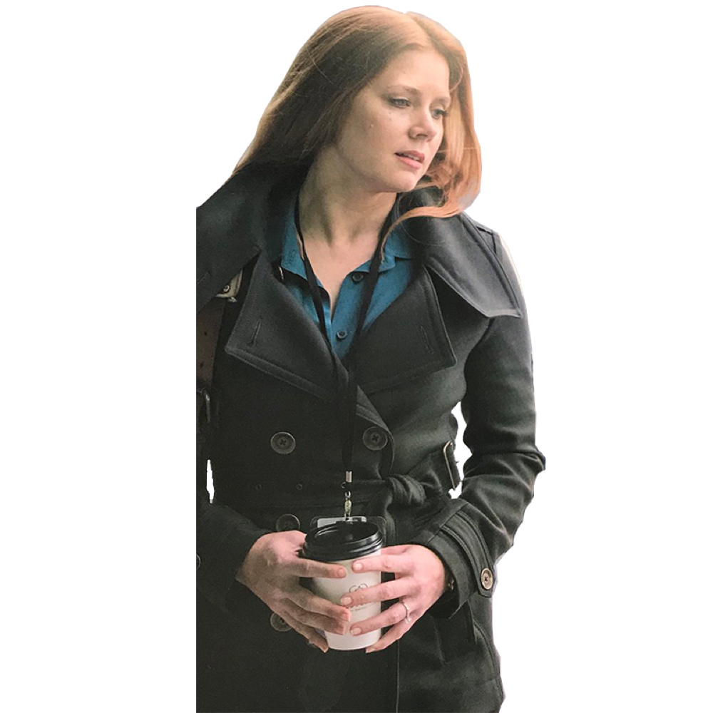Lois Lane Costume - - Lois Lane Trench Coat - Man of Steel Costume