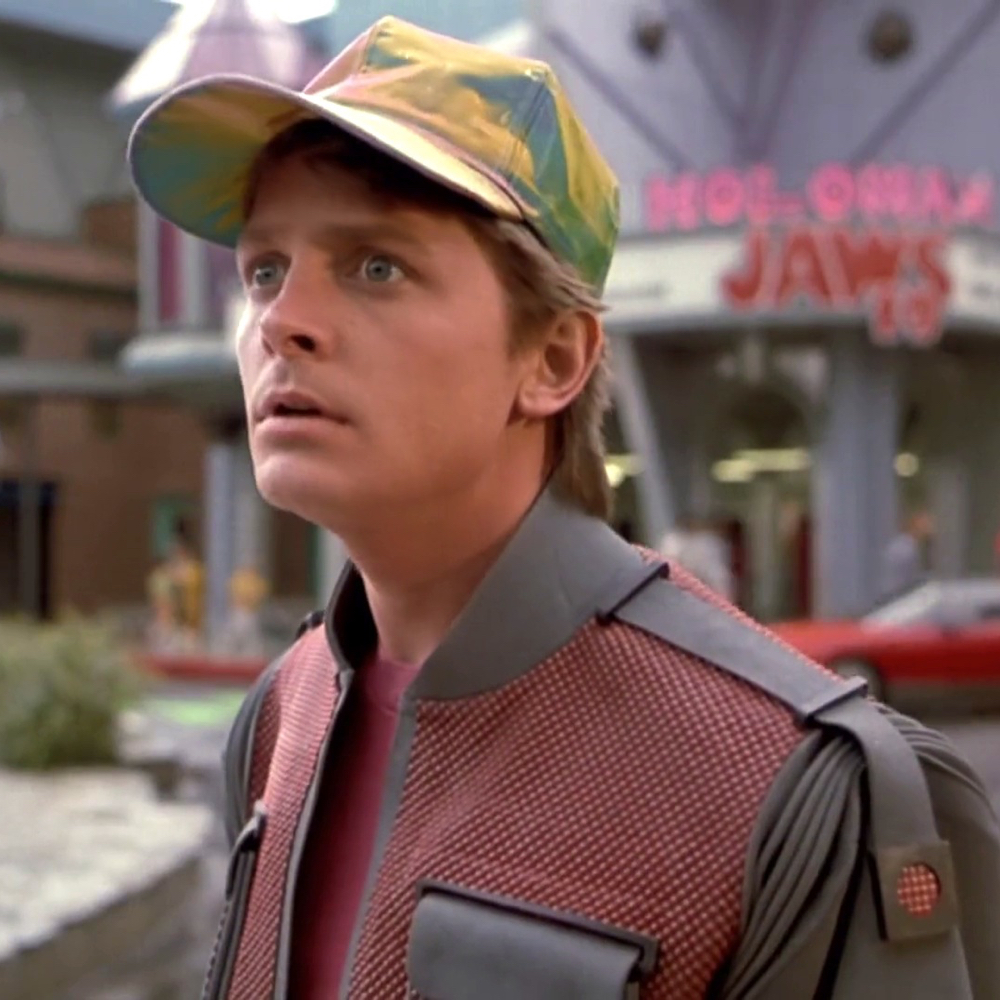 Marty McFly Costume - Marty McFly Cap