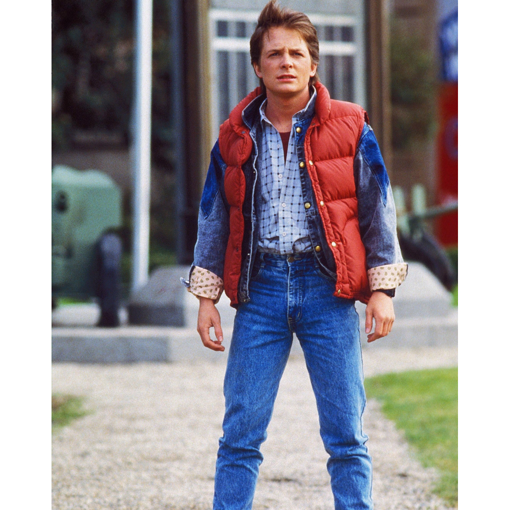 Marty McFly Costume - Marty McFly Jeans