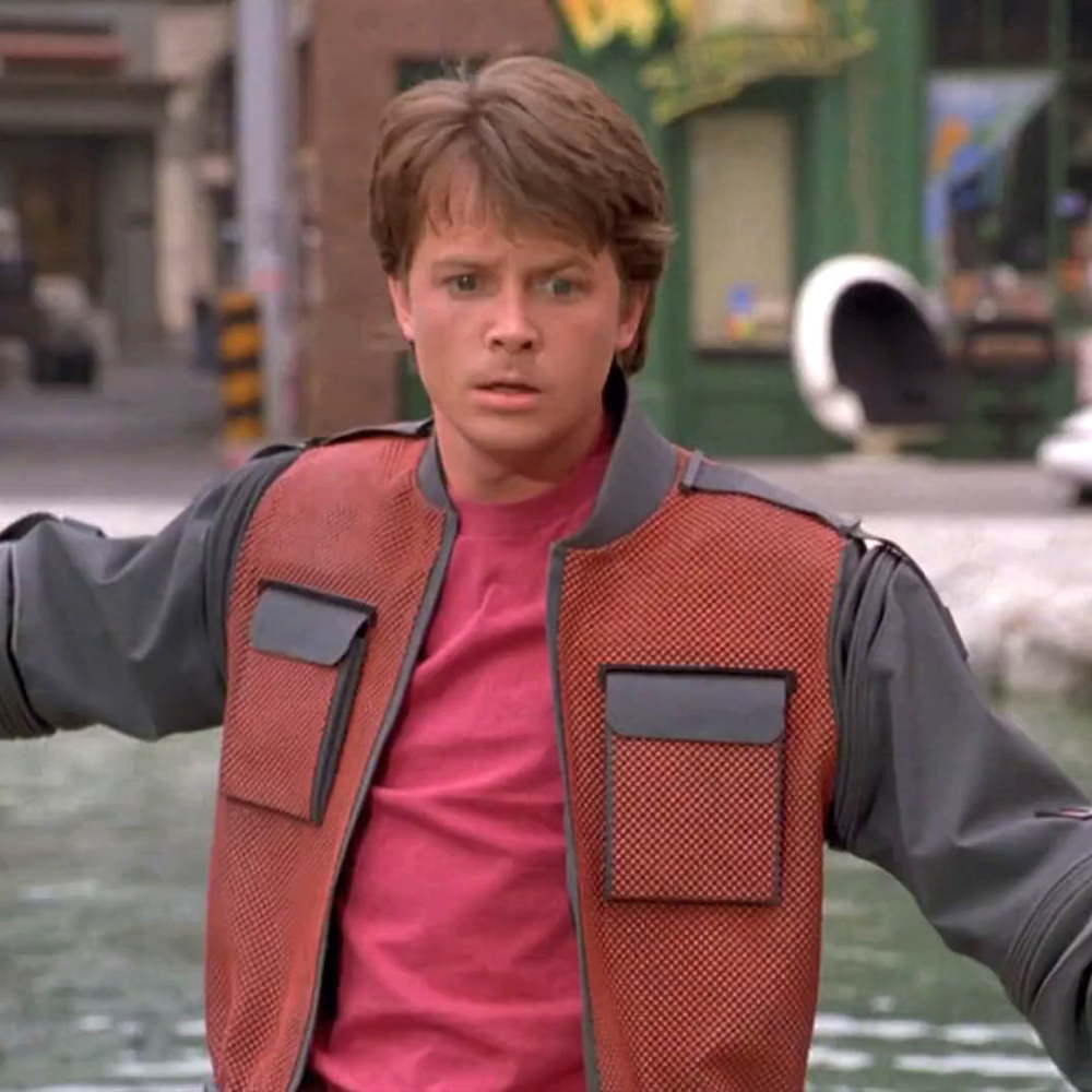 Marty McFly Costume - Marty McFly T-Shirt