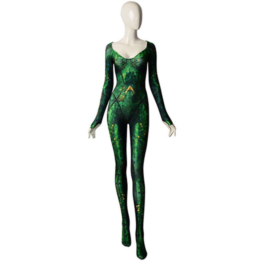 Mera Costume - Aquaman Costume - Mera Bodysuit