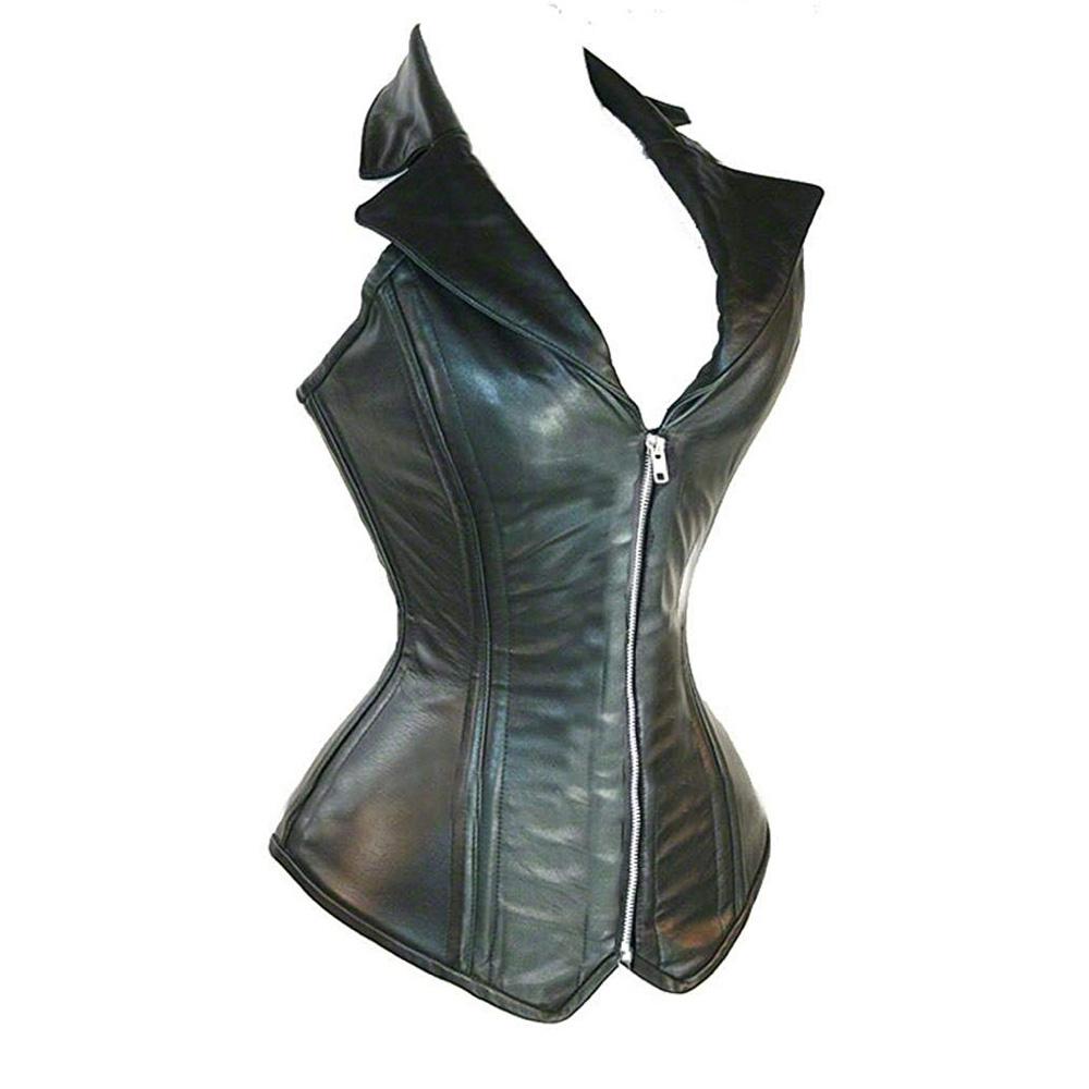 Michonne Costume - Michonne Leather Vest - The Walking Dead