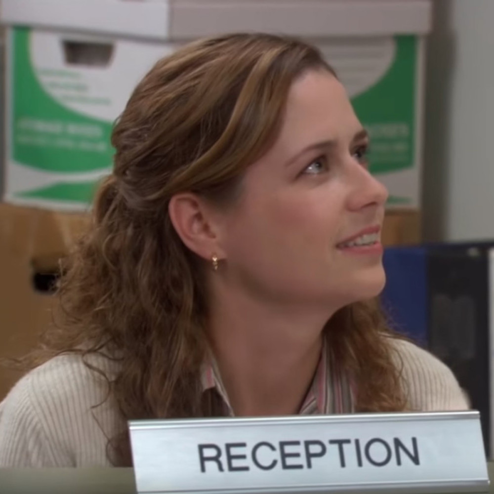 dress like pam beesly costume - pam beesly hair