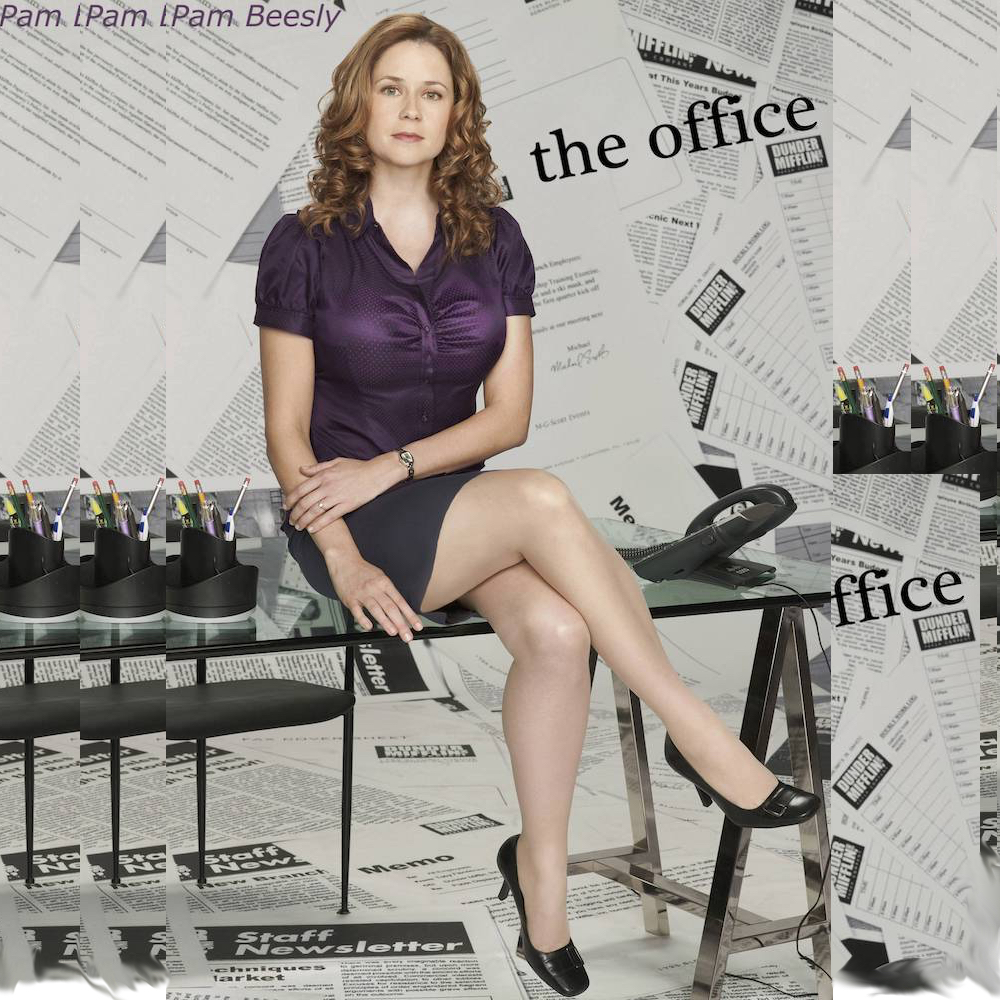Dress Like Pam Beesly Costume - Pam Beesly High Heels