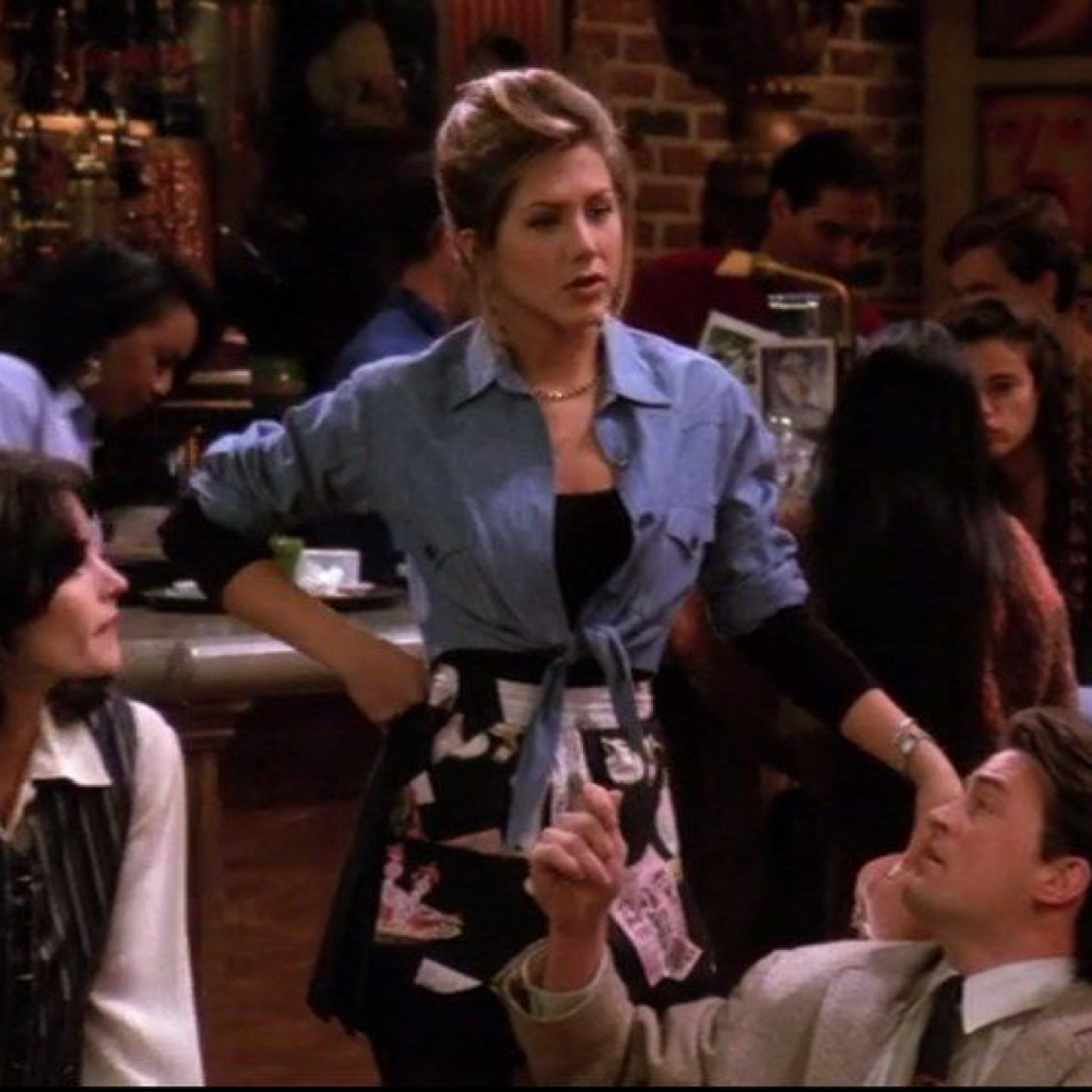 Rachel Green Costume - Dress Like Rachel Green - Rachel Green Coffee Shop Outfit