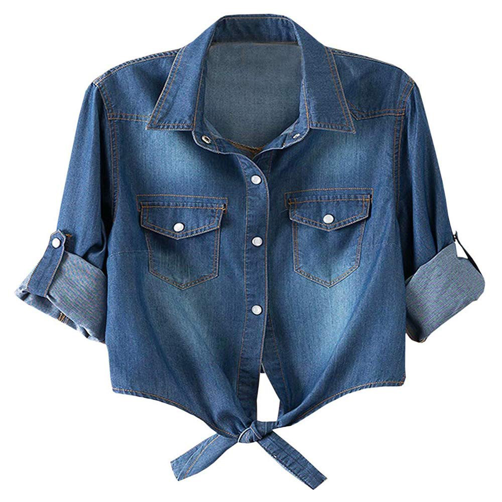 Rachel Green Denim Shirt