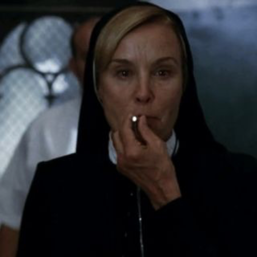 Sister Jude Costume - American Horror Story Cosplay - Sister Jude Cigarette