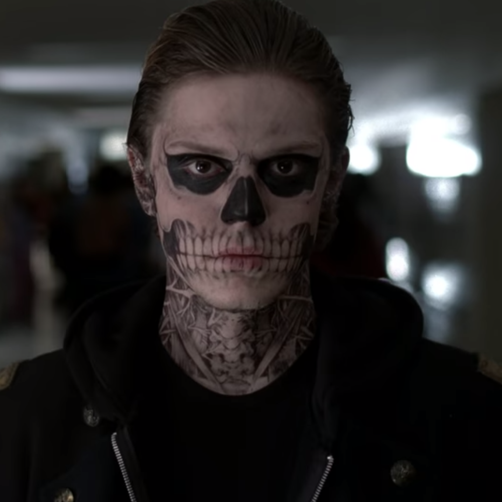 Tate Langdon Costume - American Horror Story - Tate Langdon Face Paint