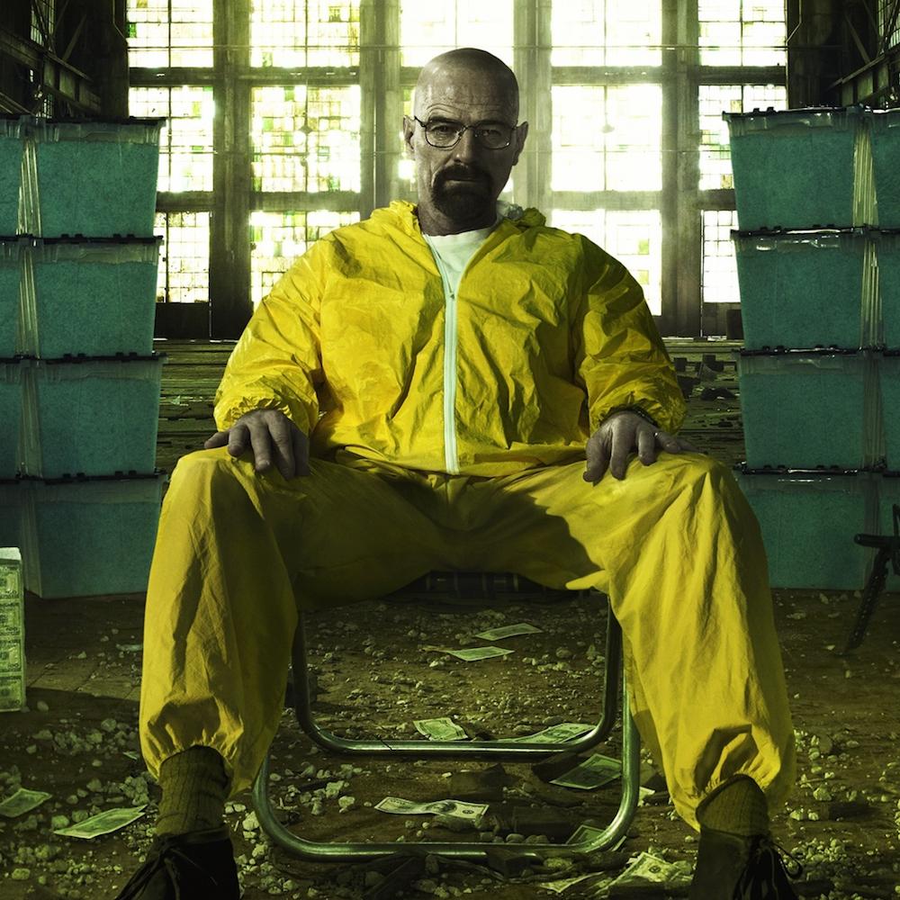 dress like Walter White costume - Heisenberg yellow suit