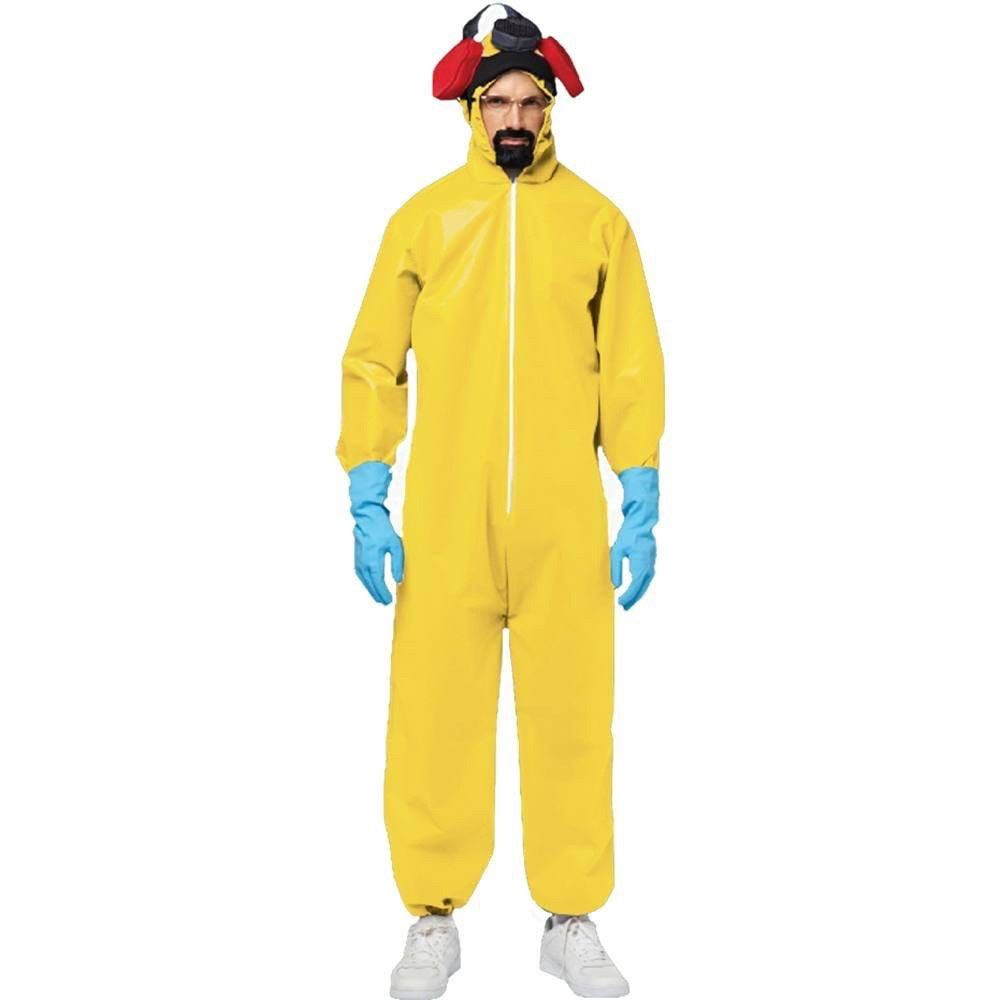 dress like walter white costume - walter white breaking bad yellow hazmat suit