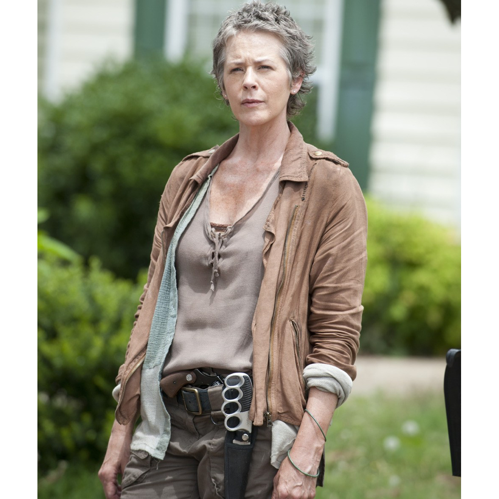 Carol Peletier Costume - The Walking Dead Cosplay - Carol Peletier Scoop Neck Top