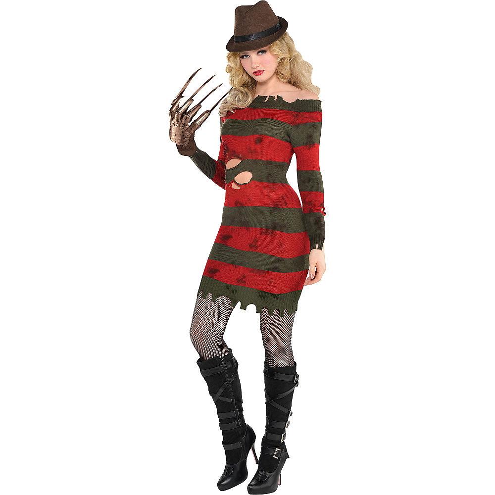 Sexy Freddy Krueger Costume for Women - Sexy Freddy Krueger Boots