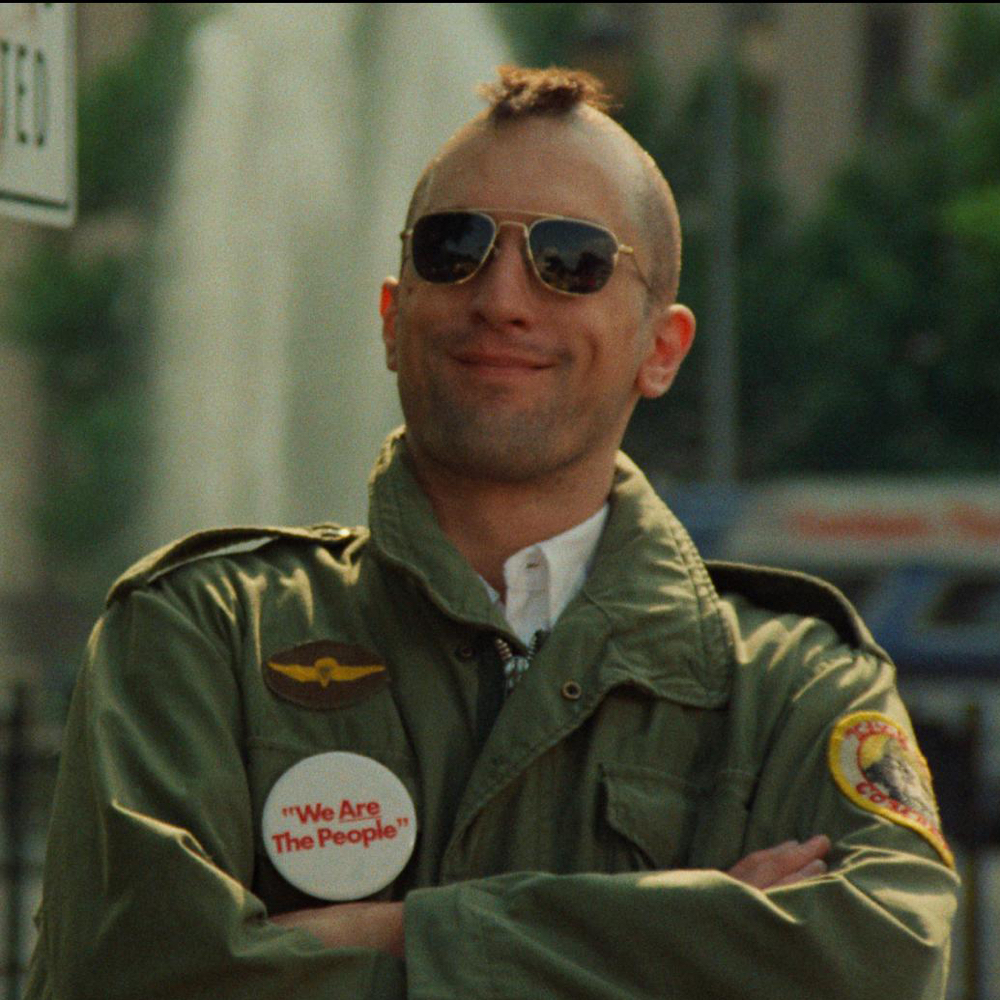 Travis Bickle Costume - Taxi Driver - Travis Bickle Campaign Button