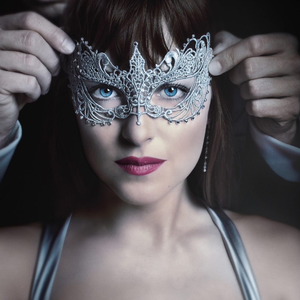 Anastasia Steele Costume - Fifty Shades of Grey - Anastasia Steele Mask