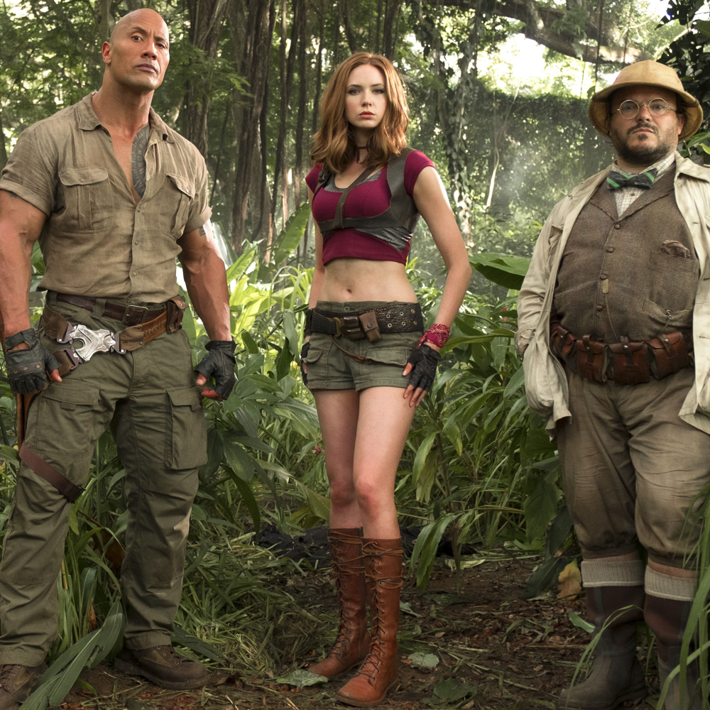 Ruby Roundhouse Costume - Karen Gillan Jumanji - Ruby Roundhouse Boots