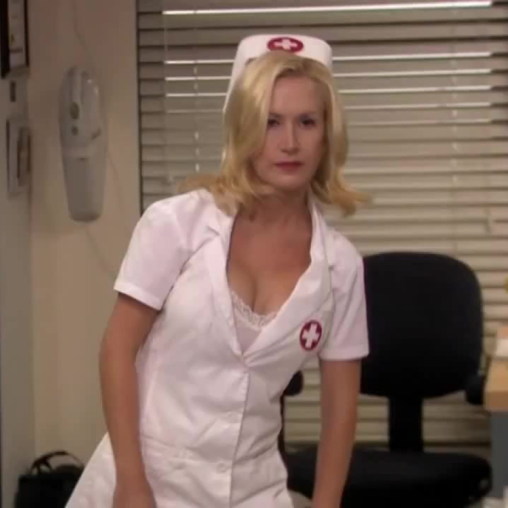 Angela Martin Costume - The Office - Angela Martin Nurse - Angela Martin Nurse Costume