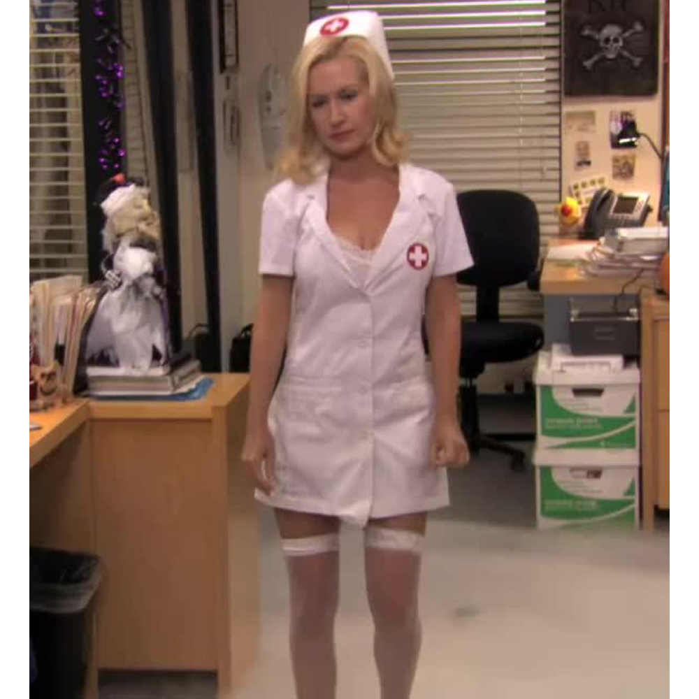 Angela Martin Costume - The Office - Angela Martin Nurse - Angela Martin Stockings