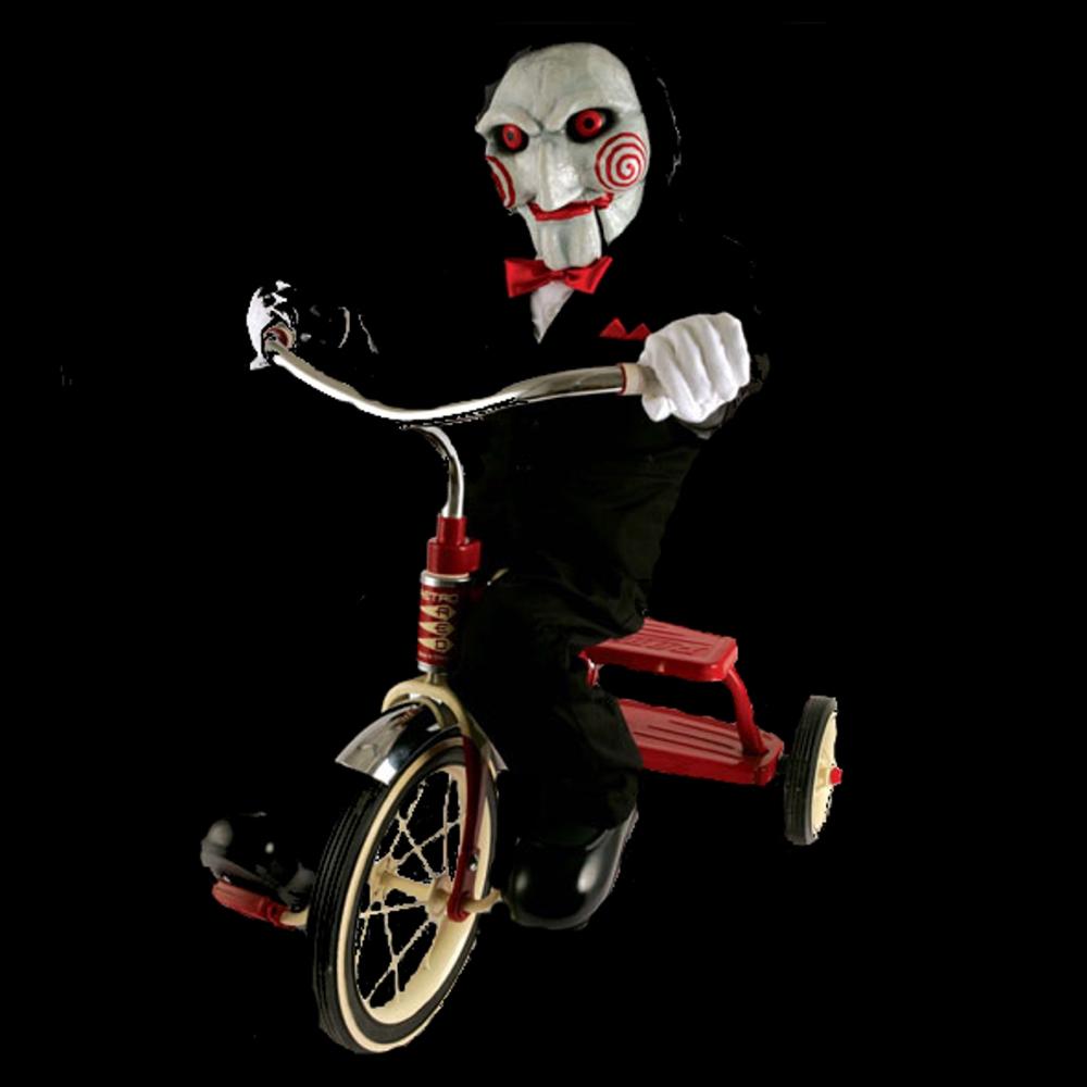 Jigsaw Costume - Saw Cosplay - Jigsaw Tricycle