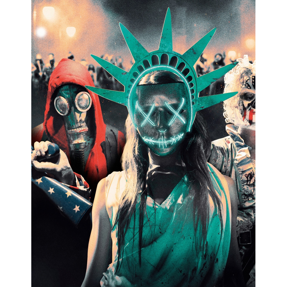 The Purge Election Year Costume - The Purge Cosplay - Lady Liberty Dress