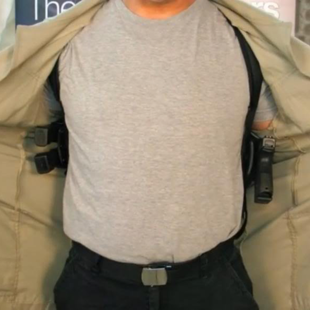 Neo Costume - The Matrix - Neo Shoulder Holster