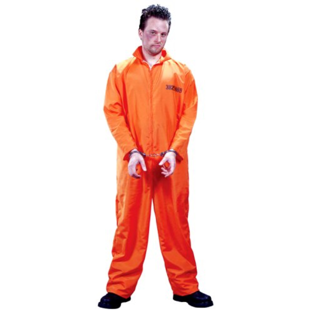 Hannibal Lecter Costume - Silence of the Lambs - Hannibal Lecter Jumpsuit