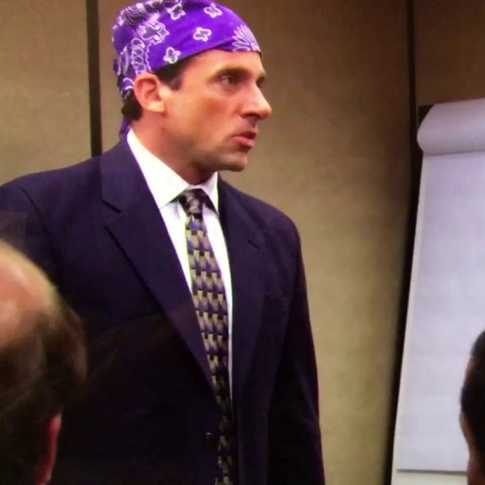 Prison Mike Costume - The Office Michael Scott Costume - Prison Mike Shirt