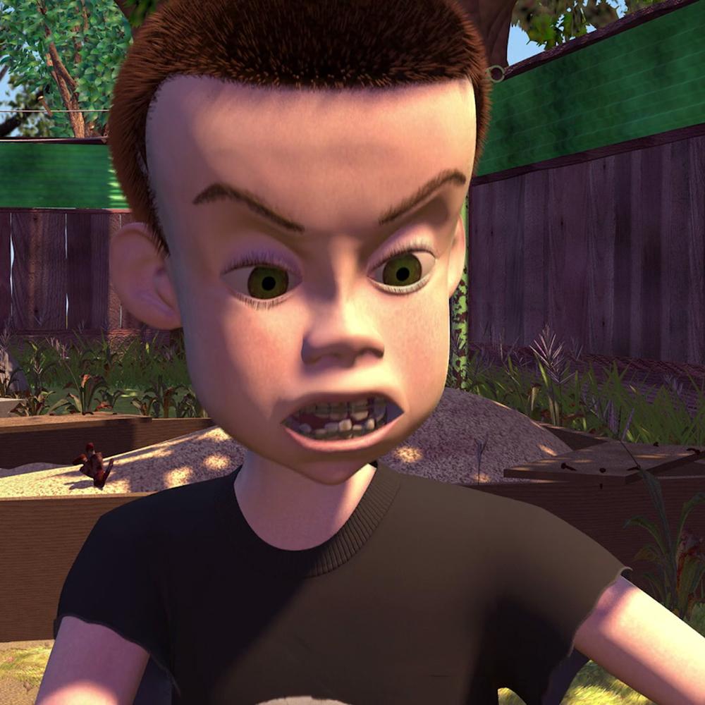 Sid Costume - Toy Story Costume - Sid Teeth