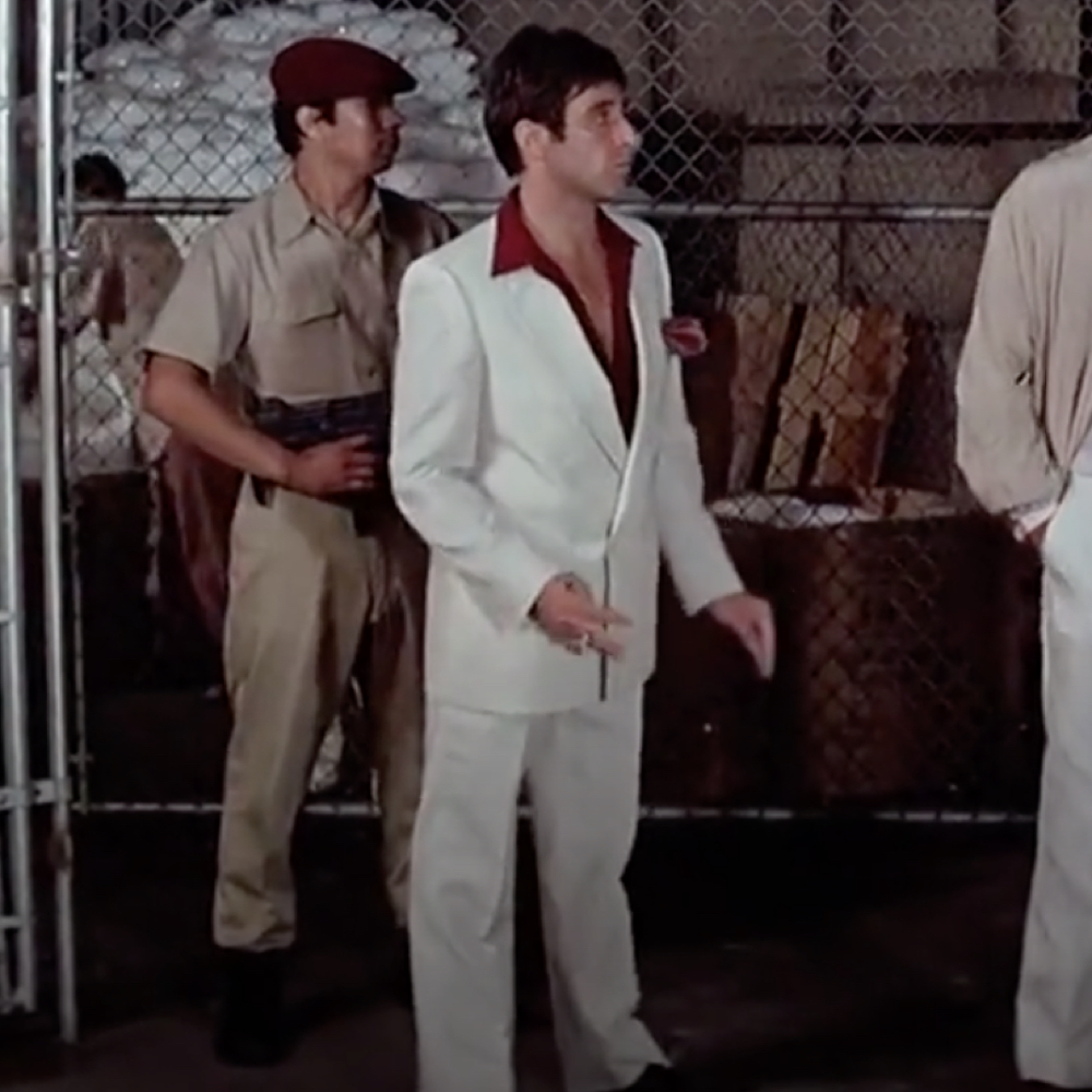 Tony Montana Costume - Scarface Costume Tony Montana Suit