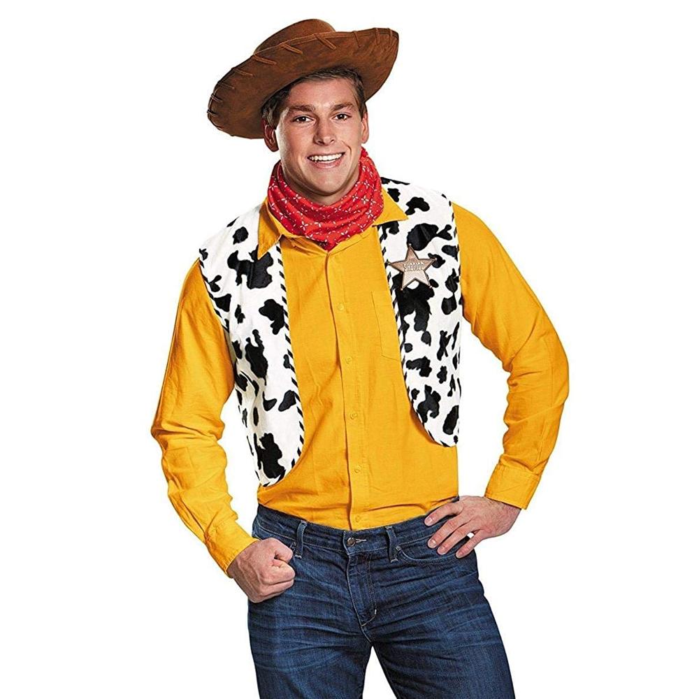 Woody Costume - Toy Story Costume - Woody Waist Coat