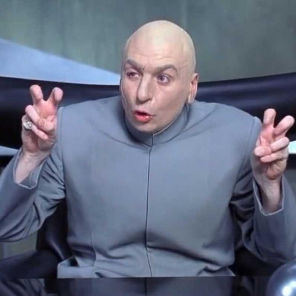 Dr Evil Costume - Austin Powers - Dr Evil Jacket