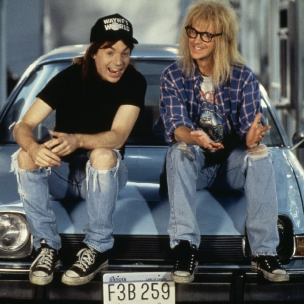 Garth Algar Costume - Wayne's World - Garth Algar Sneakers