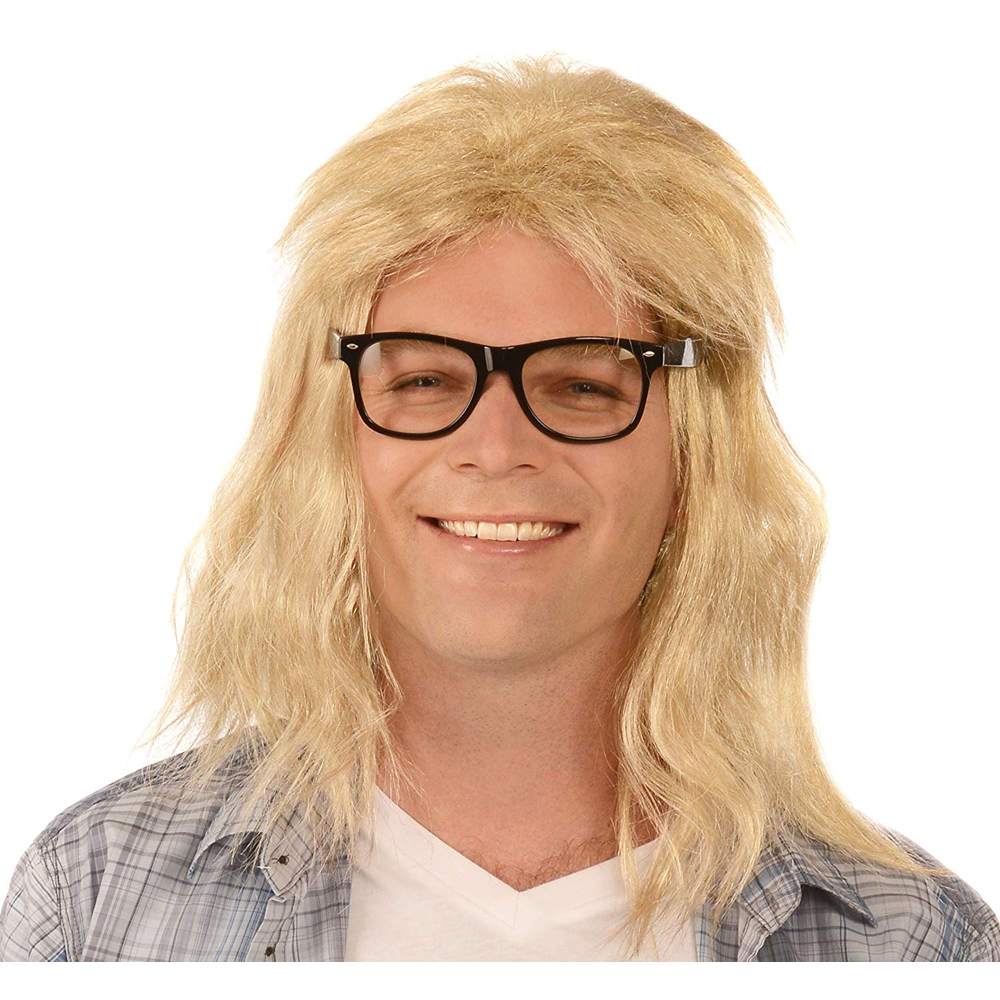 Garth Algar Costume - Wayne's World - Garth Algar Glasses and Wig