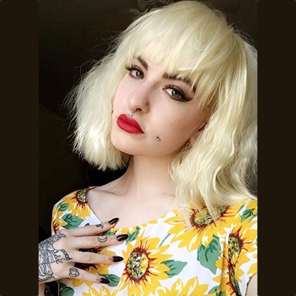 Lorraine Broughton Costume - Atomic Blonde Costume - Lorraine Broughton Hair