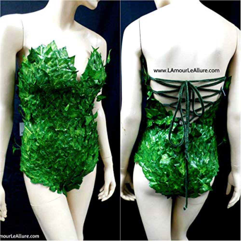 Poison Ivy Costume - Batman and Robin - Poison Ivy Bodysuit