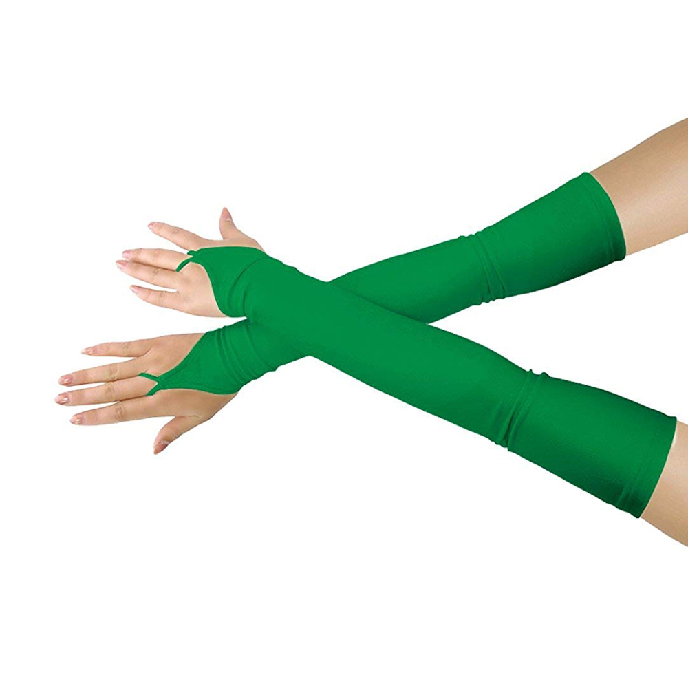 Poison Ivy Costume - Batman and Robin - Poison Ivy Gloves