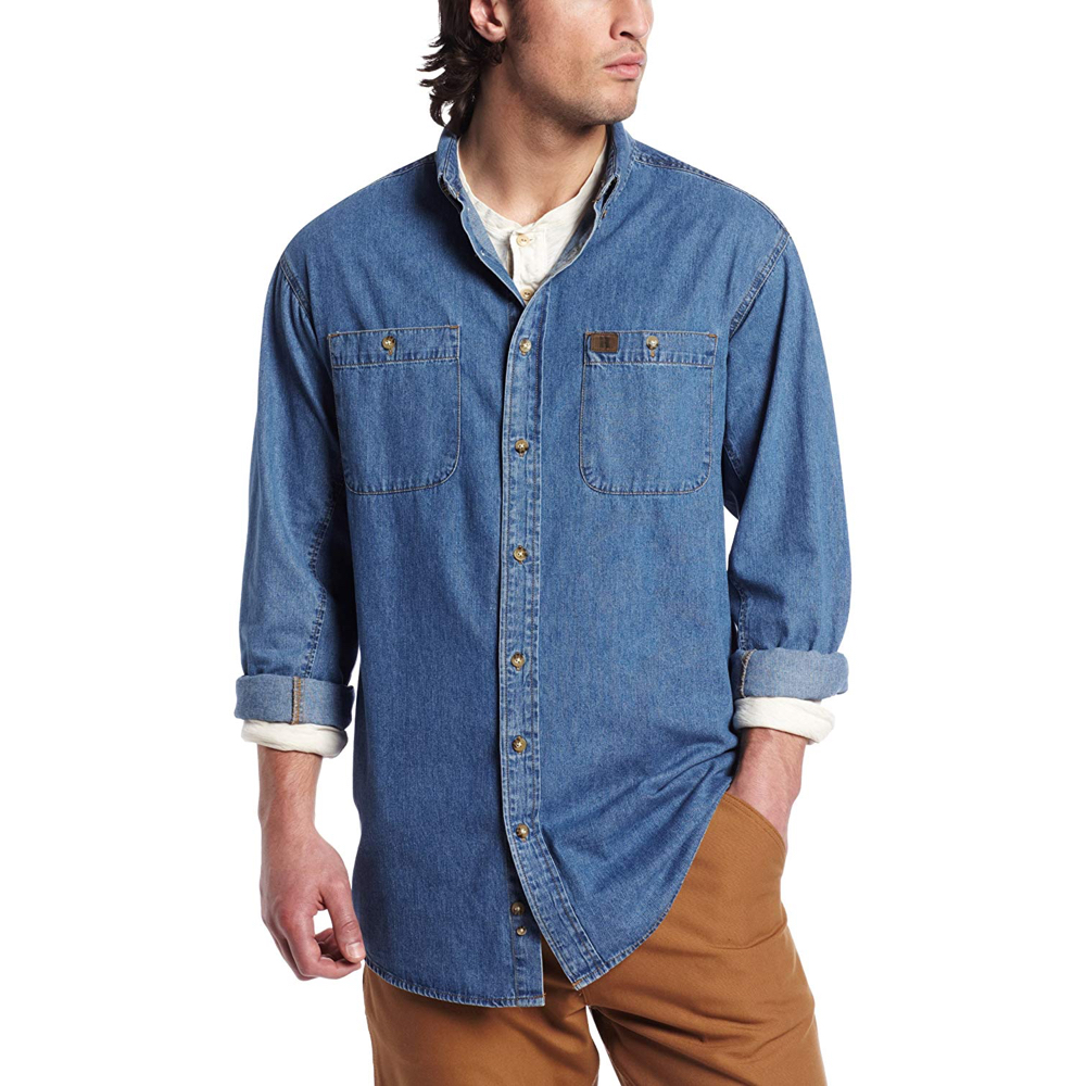 Randle McMurphy Costume - One Flew Over The Cuckoo's Nest - Randle McMurphy Denim Shirt